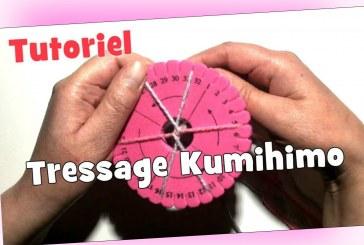 Tutoriel: Tressage Kumihimo à 6 fils (Corde pour Pull) DIY
