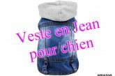 Veste en Jean pour Petit Chien